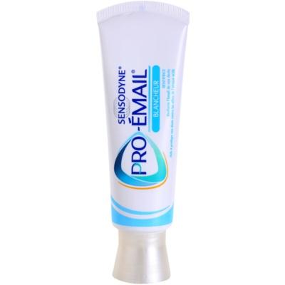 Sensodyne Pro-Schmelz bleichende Zahnpasta