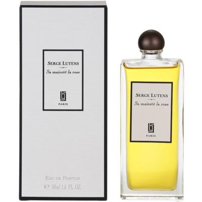 Serge Lutens Sa Majesté La Rose eau de parfum pour femme