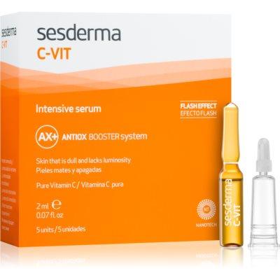 Sesderma C-Vit λαμπρυντικός και αποκαταστατικός ορός με άμεσο αποτέλεσμα