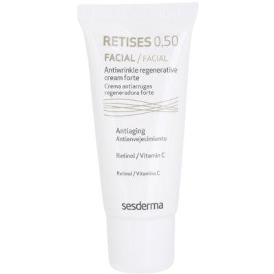 intenzivně obnovující krém s retinolem a vitaminem C