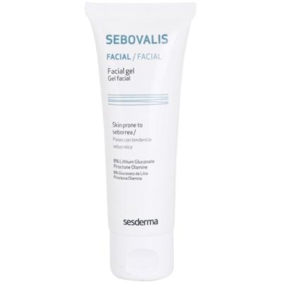 gel s protivnetnim učinkom za redukcijo kožnega sebuma in minimalizacijo por