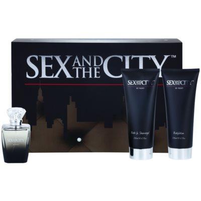Sex and the City By Night Gift Set II.  Eau De Parfum 100 ml + Shower Gel 200 ml + Body Milk 200 ml