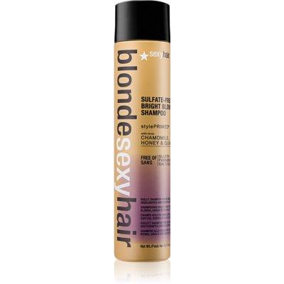 posvetlitveni šampon za blond lase in lase s prameni