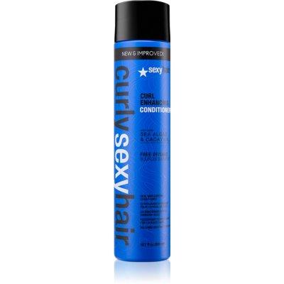 jemný kondicionér bez sulfátů pro kudrnaté vlasy