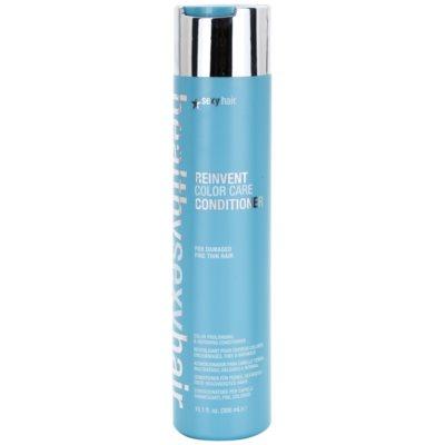 condicionador para revitalizar as cores de cabelo danificados