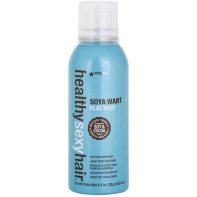 fixační sprej pro tepelnou úpravu vlasů