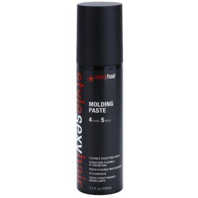 pasta modeladora para cabelo