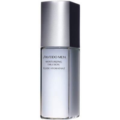 Shiseido Men Moisturizing Emulsion Emulsão hidratante e nutritiva para todos os tipos de pele
