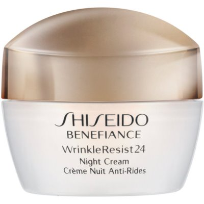 Shiseido Benefiance WrinkleResist24 Night Cream crème de nuit hydratante anti-rides