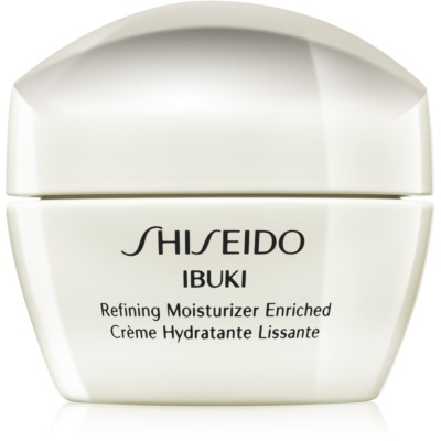 Shiseido Ibuki crème apaisante et hydratante pour lisser la peau et réduire les pores