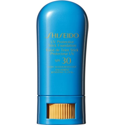 Shiseido Sun Care Foundation Waterproof Protective Foundation Stick SPF 30