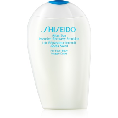 Shiseido Sun After Sun emulsión renovadora after sun  para rostro y cuerpo