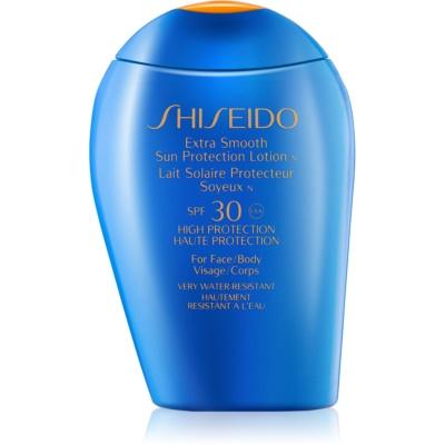 Shiseido Sun Protection lait solaire visage et corps SPF 30
