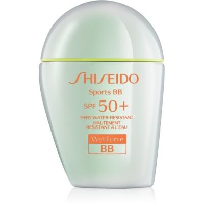 Shiseido Sports ББ крем SPF 50+
