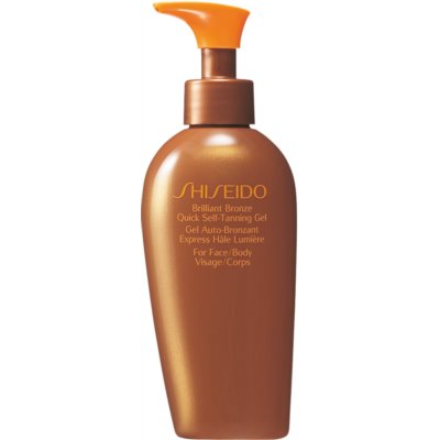 Shiseido Sun Care Self-Tanning samoporjavitveni gel za telo in obraz