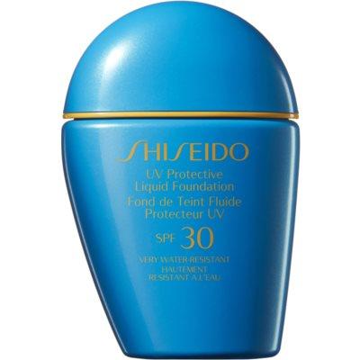 Shiseido Sun Care Foundation wodoodporny podkład w płynie SPF 30