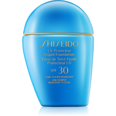 Shiseido Sun Foundation vodeodolný tekutý make-up SPF 30
