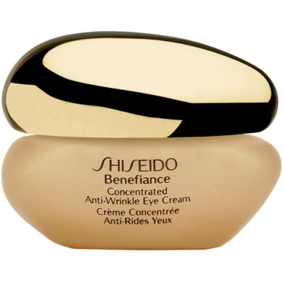 Shiseido Benefiance Concentrated Anti-Wrinkle Eye Cream szemkrém a duzzanatok és ráncok ellen