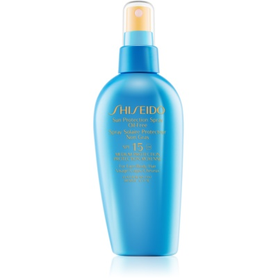 Shiseido Sun Protection spray do opalania SPF 15