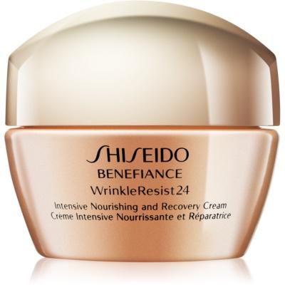 Shiseido Benefiance WrinkleResist24 интензивен подхранващ крем против бръчки