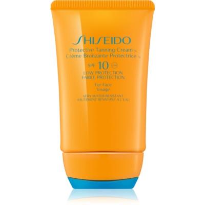 Shiseido Sun Protection Protective Tanning Cream SPF 10