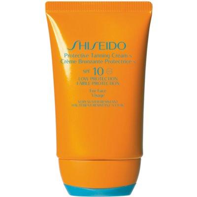 crema solar facial SPF 10