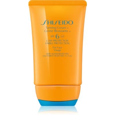 Tanning Cream for Face SPF 6