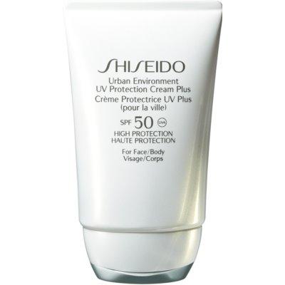 Shiseido Sun Protection Hydraterende Beschermende Crème  SPF 50