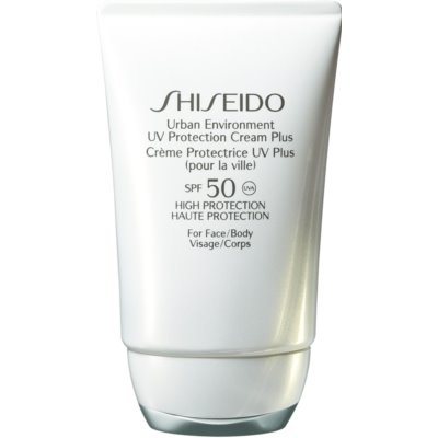 Shiseido Sun Care Urban Environment UV Protection Cream Plus хидратиращ защитен крем SPF 50