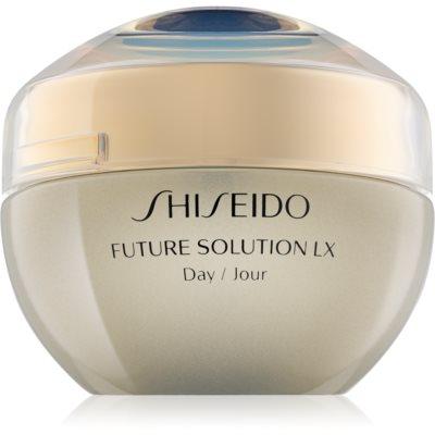 Shiseido Future Solution LX crema de día protectora  SPF 20