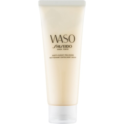 Shiseido Waso Soft + Cushy Polisher пилинг за лице