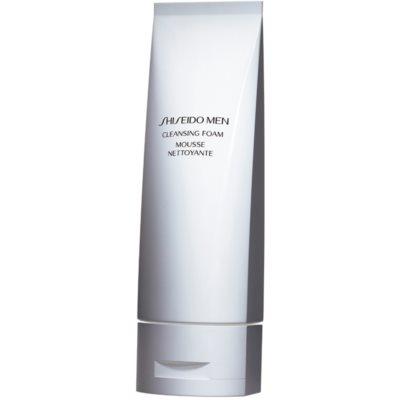 Shiseido Men Cleansing Foam απαλός καθαριστικός αφρός για όλους τους τύπους επιδερμίδας