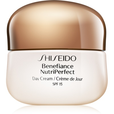 Shiseido Benefiance NutriPerfect Day Cream SPF15 подмладяващ дневен крем SPF 15