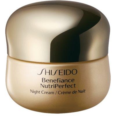 Shiseido Benefiance NutriPerfect Night Cream відновлюючий нічний крем проти зморшок