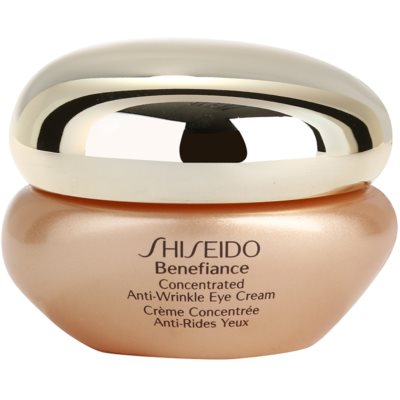 Shiseido Benefiance Augencreme gegen Schwellungen und Falten