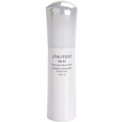 Shiseido Ibuki hidratant si pentru protectie solara SPF 15