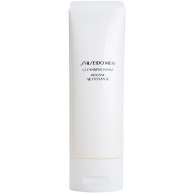 Shiseido Men Cleanse espuma limpiadora suave para todo tipo de pieles