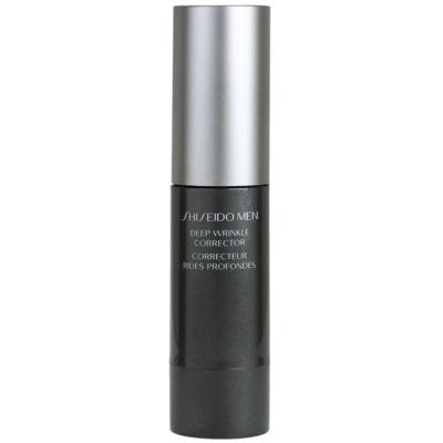 Shiseido Men Total Age-Defense intensive Creme für die Faltenkorrektur