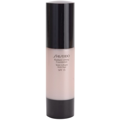 Shiseido Base Radiant Lifting rozjasňujúci liftingový make-up SPF 15