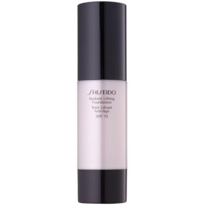 Shiseido Base Radiant Lifting base iluminadora com efeito lifting SPF 15