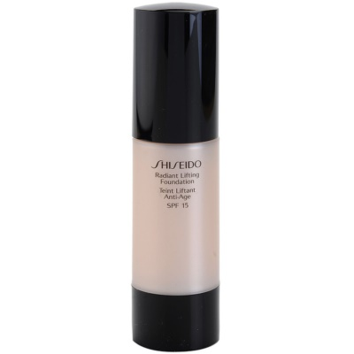 Shiseido Base Radiant Lifting rozjasňující liftingový make-up SPF 15