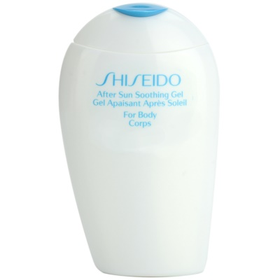 Shiseido Sun After Sun gel refrescante after sun para corpo