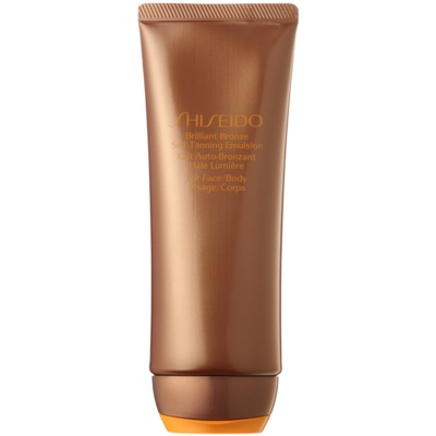 Shiseido Sun Self-Tanning emulsão autobronzeadora para corpo e rosto