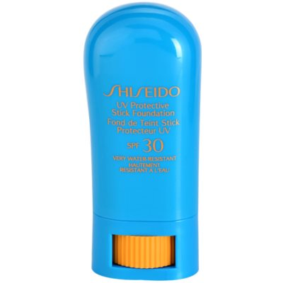 Shiseido Sun Foundation vizálló védő make-up ceruzában SPF 30
