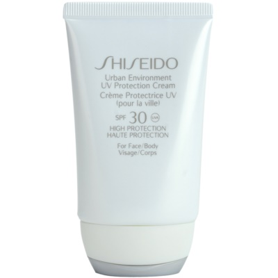 Shiseido Sun Protection UV Protection Cream for Face and Body SPF 30