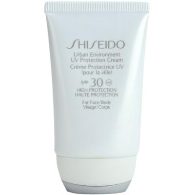 crema hidratante protectora SPF 30