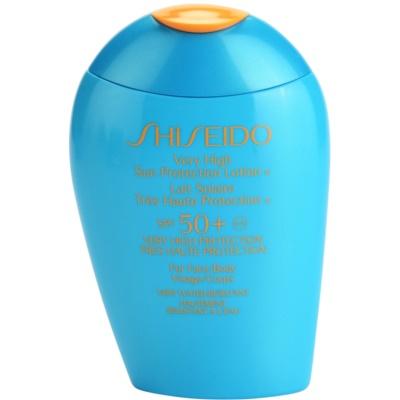 Shiseido Sun Protection слънцезащитен лосион за лице и тяло SPF 50+