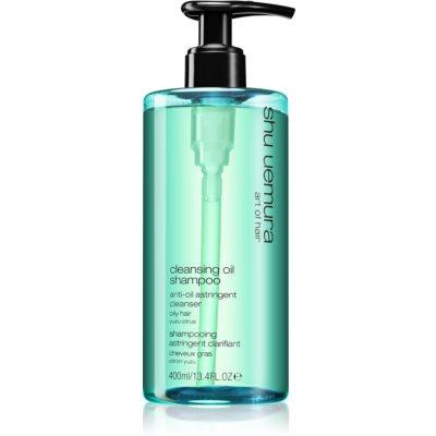 Shu Uemura Cleansing Oil Shampoo šampón pre mastné vlasy