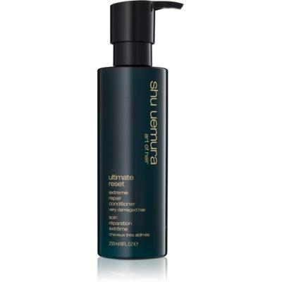 Shu Uemura Ultimate Reset kondicionér pre chemicky ošetrené, odfarbené alebo poškodené vlasy