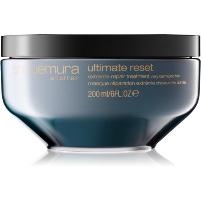 Shu Uemura Ultimate Remedy máscara para cabelo muito danificado  200 ml